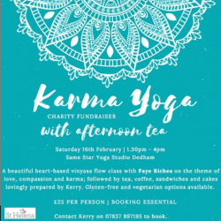 Karma Yoga Charity Fundraiser